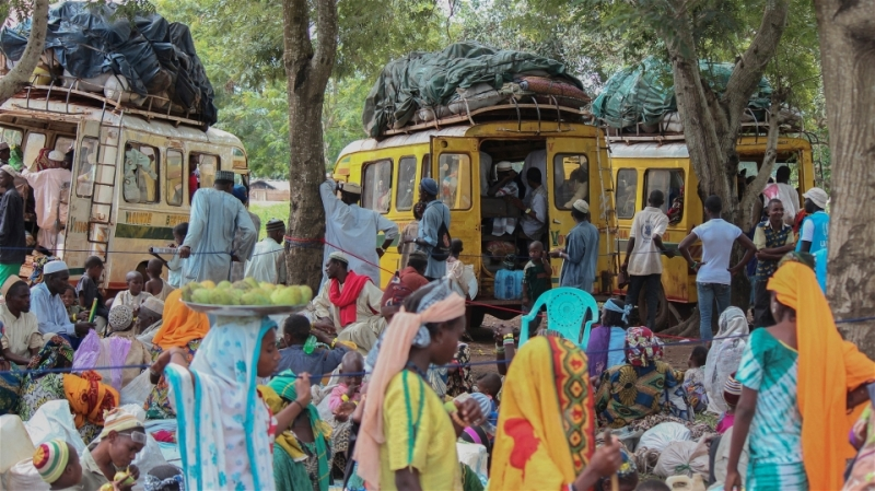 The UN Refugee Agency (UNHCR) launched operations in May 2014 to transfer thousands of Central African Republic refugees from border transit camps into sites set up within villages in eastern Cameroon.